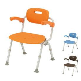 パナソニック シャワーチェア [ユクリア] ワイドSPおりたたみN PN-L41622 (介護用 風呂椅子 お 風呂 椅子 カビ にくい チェア 折りたたみ 浴室 椅子 ゆったりサイズ 肘掛け椅子) 介護用品