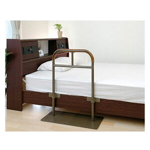 (代引き不可) ベッド用手すり しんすけST 48140 リッチェル (介護用品 福祉用具 ベッド ベット 寝具 てすり 介護用品 福祉用具 ベッド ベット てすり 立ち上がり )
