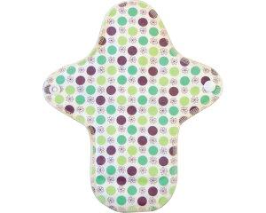 (代引き不可) K-Pad軽失禁パッド 15cc / 0261 花柄ドットグリーン 特殊衣料 介護用品