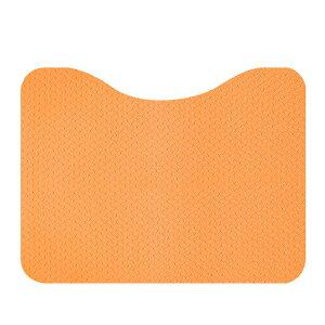 立ち上がりトイレマット AF-37 オレンジ/ベージュ サンコー (トイレマット すべり止め マット)介護用品