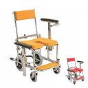 (代引き不可)入浴・シャワー用車いす 標準 KS3 カワムラサイクル(お風呂 椅子 浴用椅子 シャワーキャリー 背付き 介…