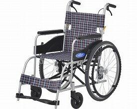 【欠品中、ご注文後納期お知らせ】(代引き不可)アルミ自走車いす NEO-1 座幅40cm 日進医療器(自走用車椅子 車イス  介護用品)※時間帯指定不可 介護用品
