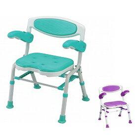 島製作所 折りたたみシャワーチェアー 楽湯DX 7250(入浴用椅子 お風呂イス 介護用品 折りたたみ) 介護用品