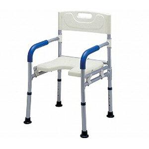 すま〜いる コンパクト シャワーベンチ FCRS イーストアイ (介護用 風呂椅子 介護 浴室 椅子 折りたたみ) 介護用品