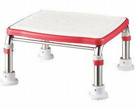 アロン化成 安寿 ステンレス製浴槽台Rジャストソフト20-30 / 536-504(入浴補助 浴槽用イス 踏み台)介護用品
