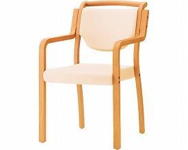 (代引き不可)施設用いす ロワ 5NL / A1041 白(施設用家具 椅子 チェアー) 介護用品