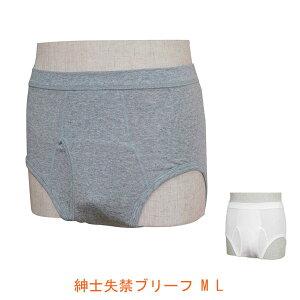 紳士 失禁ブリーフ W660 M L ウエル (男性用失禁パンツ 尿漏れパンツ 吸収量約40cc) 介護用品