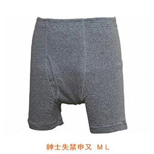 紳士失禁申又 W646 M L ウエル (男性用失禁パンツ 尿漏れパンツ) 介護用品