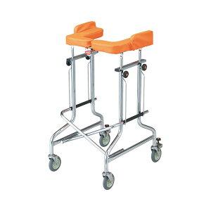 (代引き不可) アルコー1G-T型 100491 星光医療器製作所 (歩行器 歩行車 歩行補助 抵抗器付 コンパクト 折りたたみ) 介護用品