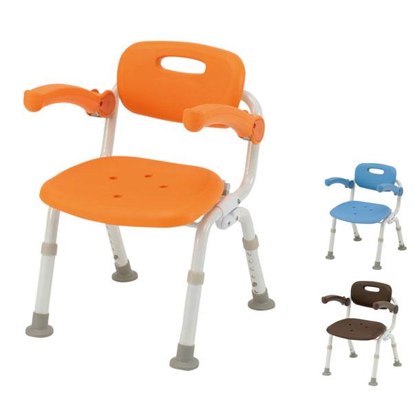 パナソニック シャワーチェア [ユクリア] コンパクトSPおりたたみN PN-L41321 (介護用 風呂椅子 お 風呂 椅子 カビ にくい チェア 折りたたみ 浴室 椅子 コンパクト 椅子 肘掛け椅子) 介護用品