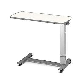 (代引き不可)パラマウント ベッドサイドテーブル / KF-1920 アイボリー(ガススプリング式 ベッドテーブル 介護)(日・祝日配達不可 時間指定不可)介護用品