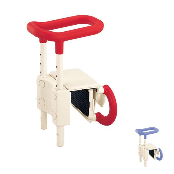 アロン化成 安寿 高さ調節付浴槽手すり UST-130(入浴関連 浴室てすり 入浴グリップ)介護用品