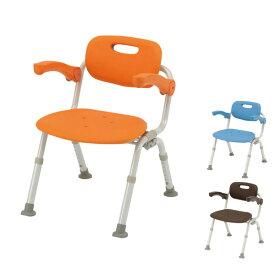 パナソニック シャワーチェア [ユクリア] ミドルSPおりたたみN PN-L41721 (介護用 風呂椅子 お 風呂 椅子 カビ にくい チェア 折りたたみ 浴室 椅子 肘掛け椅子) 介護用品