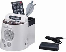エムケー電子 みみもとくんα2 AMラジオ付き赤外線CS-100P(コードレススピーカー 耳元スピーカー テレビ鑑賞 難聴)【02P18Jun16】
