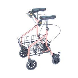 (代引き不可)イーストアイ セーフティーアーム ロレータキャリーUタイプ RSCU2 (介護 歩行補助器歩行器 歩行車 折たたみ) 介護用品