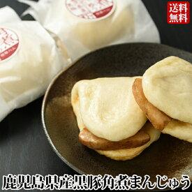 【送料無料】 ギフト 鹿児島産黒豚角煮まんじゅう(10個) 贈り物 お土産