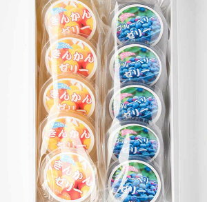 きんかんとブルーベリーのゼリー詰め合わせ(各5個入) ゼリーセットD 【送料無料】 フルーツ キンカン 金柑 ブルーベリー ホワイトデー