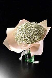 花ギフト かすみ草の花束 お誕生日プレゼントにぴったり    ギフト かすみ草・カスミソウ 花束 プレゼント ギフト 誕生日 母の日 ラッピング 包装 切花 誕生日 結婚祝い 結婚記念日 出産
