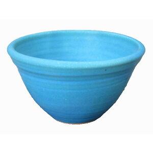 美濃焼伝統工芸士が創作する陶芸手洗い鉢トルコブルー(小)