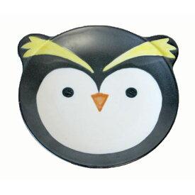 ペンギン パン皿 日本製 食器 17.3cm キッズ用お皿