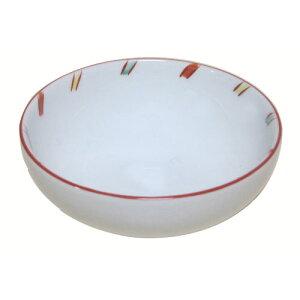 小鉢 赤絵斜トクサ 国産 業務用 食器収納に場所をとらない 朝食の生卵用小鉢
