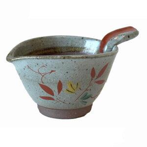 すり鉢 色笹 納豆用 小 赤絵 小鉢国産 業務用 調理器具 食器 ドレッシング作りにも