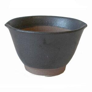 すり鉢 粋な黒 中 13.0cm 麦とろ用国産 業務用 食器