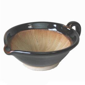 すり鉢 天目 手付きすりゴマ用 中 15.0cm業務用 食器 調理器具