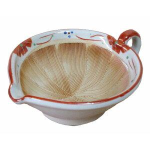 すり鉢 プチ小花 手付き 小(離乳食に最適)ごますり用スリ鉢