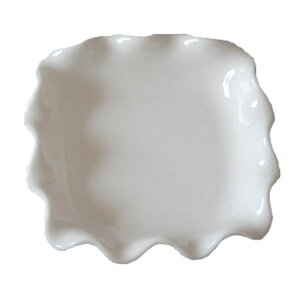 小皿 さざ波 ナッピー シルキー ボーン 8.7cm 日本製 業務用 食器 小鉢 食洗機対応 レンジ対応 おしゃれ おつまみ たれ