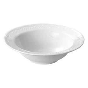 オートミル ドルチェ スープ皿 17.0cm白特磁 日本製 業務用 食器 食洗機対応 レンジ対応