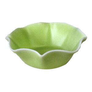 小鉢 黄緑 ボール(10.3cm)国産 業務用 食器 たれ お漬物 和モダン ソース