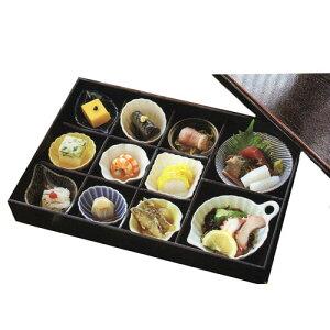 松花堂 弁当 十一仕切り 風セット(食材は含まれません)弁当箱 オードブル 和食器 おせち 小鉢 小皿 国産 食器