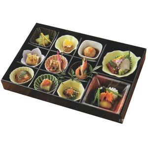 松花堂 弁当 十一仕切り 月セット(食材は含まれません)弁当箱 オードブル 和食器 おせち 小鉢 小皿 国産 食器