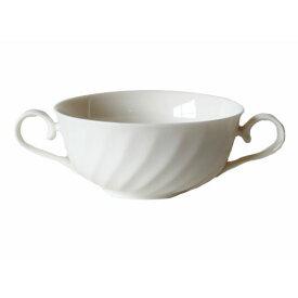 スープカップ ニューウエーブ 乳白シルキーボン(300cc)ブイヨン碗