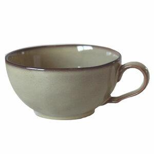 スープカップ シナモンベージュ国産 食洗機 レンジ 味噌汁 お椀 和モダン プレゼント 和食器 おしゃれ 持ち手