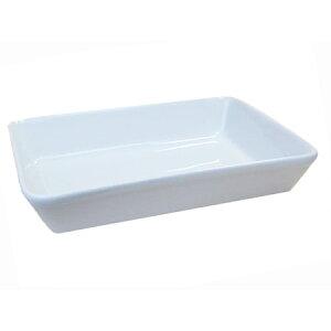 ラザニア用角型深鉢 フリーシェプ ホワイト 15.0cm日本製 業務用 食器