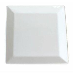 角皿 スクエアプレート 26.8cm キャレ ホワイトオードブル用正角皿 日本製 業務用 食器
