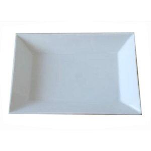 長角皿 ホワイト 大 24.0cm 日本製 業務用 食器