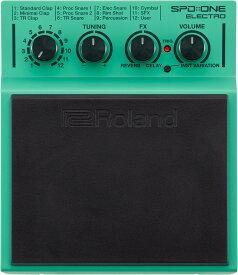 """Roland【新製品】SPD::ONE """"ELECTRO"""" Percussion Pad【送料無料】【お茶の水ドラムコネクション】【サンプリングパッド】【ローランド】"""