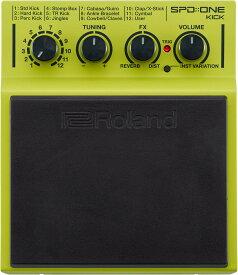 """Roland【新製品】SPD::ONE """"KICK"""" Percussion Pad【送料無料】【お茶の水ドラムコネクション】【サンプリングパッド】【ローランド】"""