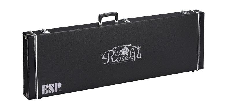 ESP Roselia Hard Case HC-400 ROSELIA 【BTLベース専用ハードケース】【今井リサ・LISA】【BanG Dream!】【ロゼリア】【ご予約受付中】【送料無料】【ESP×バンドリ! ガールズバンドパーティ! コラボレーション】