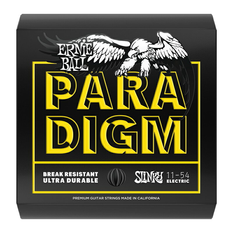 ERNIE BALL アーニーボール Electric Guitar Strings Paradigm Beefy Slinky Electric【2027】(11-54) 【エレキギター弦】【パラダイム】【トリートメント弦】