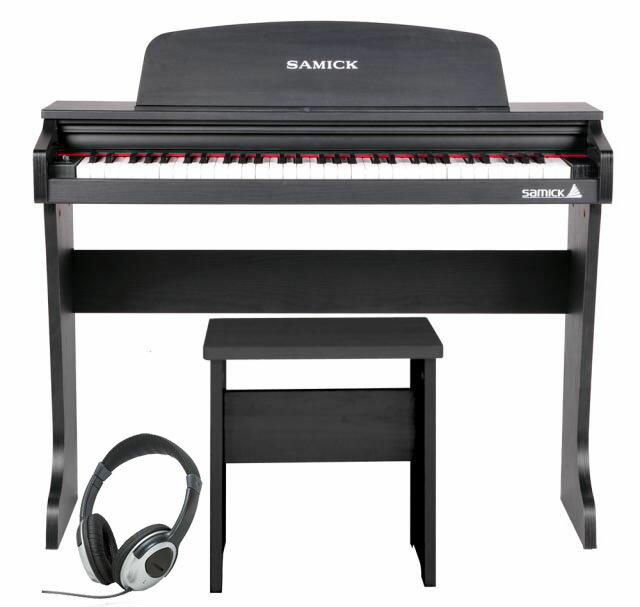Samick ( サミック ) 61 KID-O2 / Black 【ヘッドフォンサービス】【ブラックカラー】《子供向けミニデジタルピアノ》 【送料無料】
