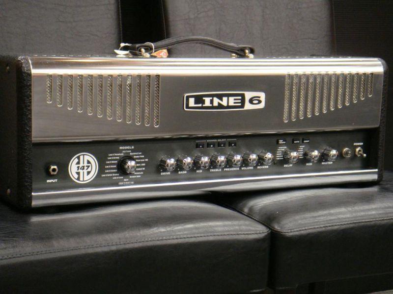 【中古】LINE6 HD 147 (USED)【アンプ】【ヘッド】【ギター用】