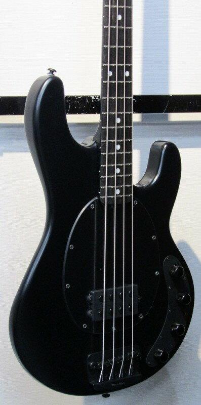 Music Man ミュージックマン StingRay4 Stealth Black 【S/N,C 30043】【スティングレイ】【アクティブ】【ベース】【ステルス・ブラック】【送料無料】