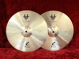 "T-Cymbals T-Classic Medium Hi-Hat 14"" (pair) Top/960g Bottom/1,240g【お茶の水ドラムコネクション】"