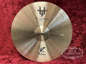 "T-Cymbals T-Classic Medium Ride 20"" 2,435g【送料無料】【お茶の水ドラムコネクション】"