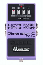 BOSSDC-2WWAZA CRAFT初回入荷分完売次回入荷分ご予約受付中【ボス】【Dimension C】【DC2W】【ディメンジョン】【技】