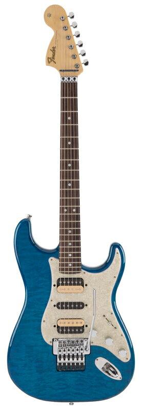 Fender Michiya Haruhata Stratocaster Rosewood Fingerboard, Caribbean Blue Trans【ご予約受付中】【11〜12月入荷予定】【フェンダー】【春畑道哉氏モデル】【TUBE】